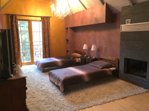 sypialnia w ośrodku leczenia uzależnień